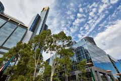 Eureka-Toren, Melbourne, Southbank Stock Afbeeldingen