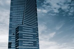 Eureka tower. The world's tallest residential building in Australia Royalty Free Stock Images