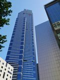 The Eureka tower in the commercial district Royalty Free Stock Photo