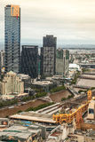 The Eureka Tower in Melbourne Royalty Free Stock Photo