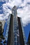 Eureka Tower Melbourne. Eureka tower in the heart of Melbourne, Victoria,  Australia Stock Photos
