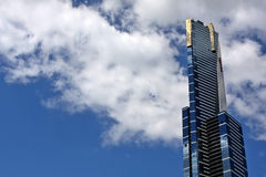 Eureka Tower Melbourne. Eureka tower in the heart of Melbourne Royalty Free Stock Image