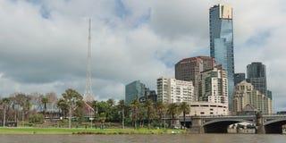 Eureka Tower panorama Stock Image