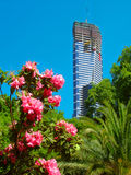 Eureka Tower under Construction Stock Photos