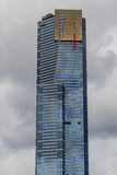 Eureka-Turm in Melbourne, Skydeck-Zeichen lizenzfreie stockfotografie