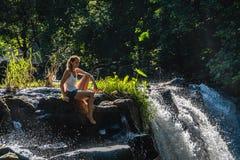 Eureka vattenfall royaltyfri foto