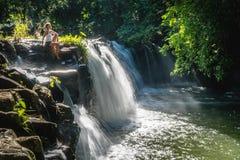 Eureka vattenfall arkivbilder