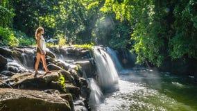 Eureka vattenfall arkivfoto