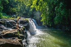 Eureka vattenfall royaltyfria foton