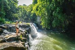Eureka vattenfall royaltyfri bild