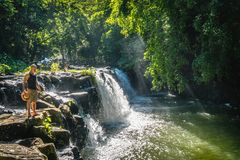 Eureka-waterval stock fotografie
