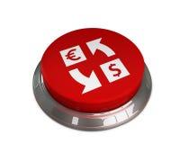 Euro à l'icône du dollar Photo libre de droits