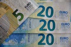 EURO 20 ÅR BLAND FACKLIGA LÄNDER FÖR EUROEPAN royaltyfri fotografi