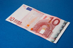 Euro 10 Imagen de archivo libre de regalías