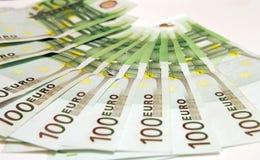 euro 100 Royaltyfria Bilder