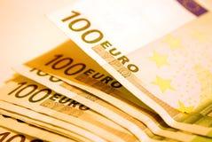 euro 100 Arkivbilder