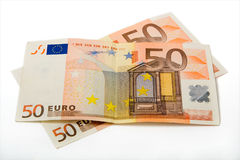 euro 100 Royaltyfria Foton