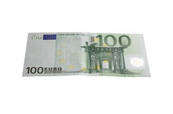 Euro 100 Fotografia de Stock