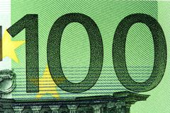 Euro 100 Lizenzfreie Stockbilder