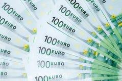 Euro 100 Stockbild