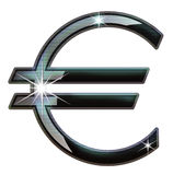 Euro. Vector images that simbolise the euro currency symbol Stock Images