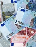 euro Arkivfoton
