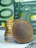 euro Royaltyfri Fotografi
