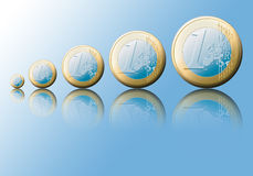 euro stock illustrationer