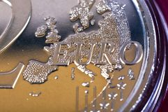 euro 2 Imagem de Stock Royalty Free