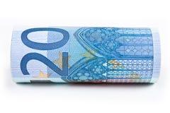 Euro 20 Stockfotografie