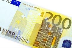 euro 200 Fotografering för Bildbyråer