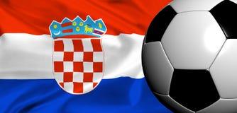 Euro 2008 - croatia Royalty Free Stock Photos