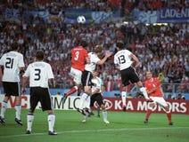 euro 2008 de l'Autriche Allemagne Photographie stock libre de droits