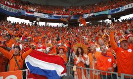 Euro 2008 - France v. Netherlands June 13, 2008 Royalty Free Stock Photos