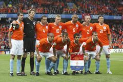 Euro 2008 - France v. Netherlands June 13, 2008 Stock Image