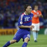 Euro 2008 - Frankrijk v. Nederland 13 Juni, 2008 Stock Foto's