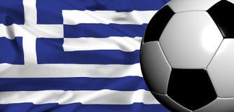 Euro 2008 - greece Stock Photo
