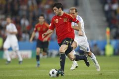 Euro 2008 - Greece v. Spain June 18, 2008 Stock Images
