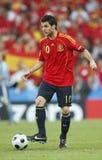 Euro 2008 - Griekenland v. Spanje 18 Juni, 2008 Stock Foto's