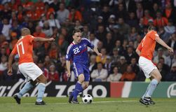 Euro 2008 - Holland v. France 6/13/08 Royalty Free Stock Photography