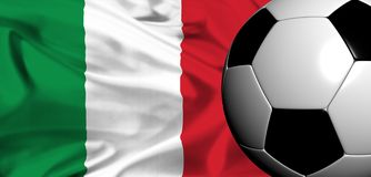 Euro 2008 - italy Royalty Free Stock Photography