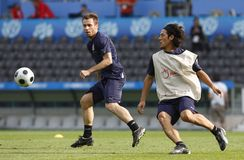 Euro 2008 -  Italy Training Session Royalty Free Stock Images