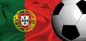 Euro 2008 - portugal Stock Photo