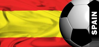 Euro 2008 - spain Royalty Free Stock Images