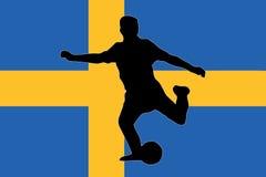 Euro 2008 - sweden Royalty Free Stock Image