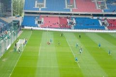 EURO 2012 - équipe des Hollandes Images libres de droits
