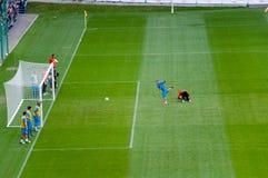 EURO 2012 - équipe des Hollandes Photographie stock