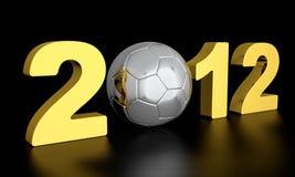 Euro 2012 Lizenzfreie Stockfotos