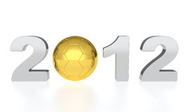 Euro 2012 Imagens de Stock Royalty Free
