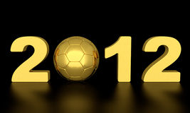Euro 2012 Royalty-vrije Stock Afbeelding